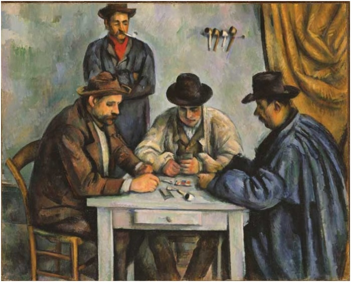 Ragon Cezanne card players