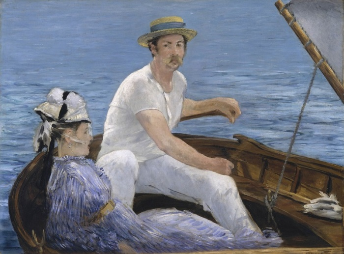 manet chicago boating two snall