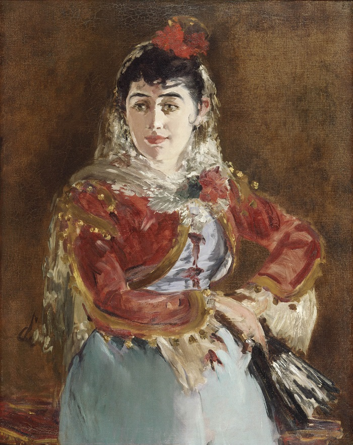 manet chicago portrait of emilie ambre small
