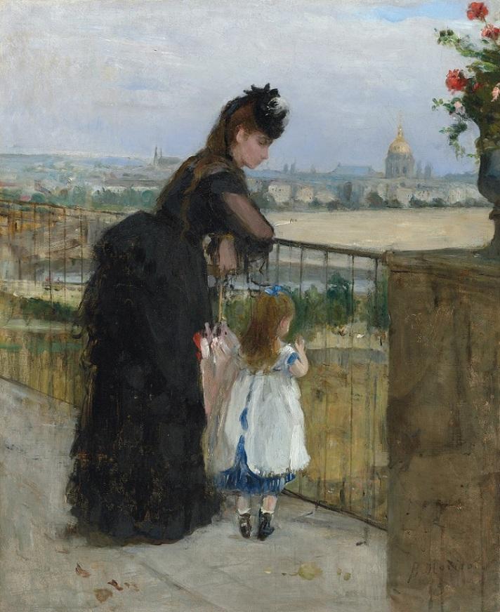 Morisot 06. Morisot_Femme et enfant au balcon-1 small